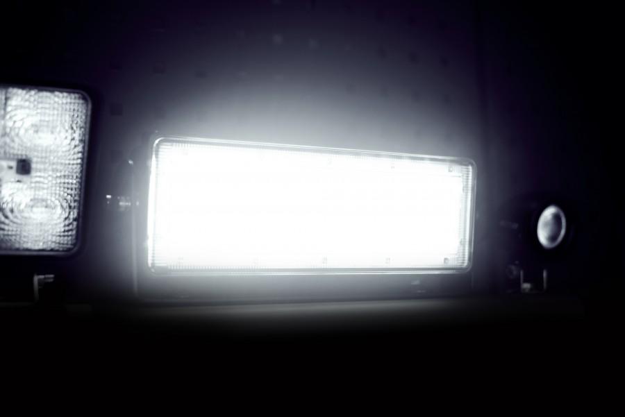 LED-arbejdsbelysning, projektører og arbejdslamper