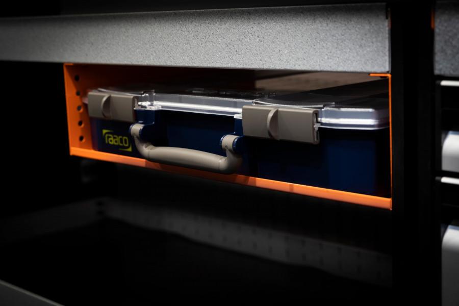 Sortimentstasker og sortimentsskuffer til dit biludstyr